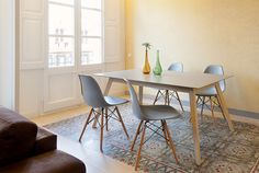 Home Staging de alta gama. Dining room area. Advanced Home Staging | Markham Stagers, Barcelona