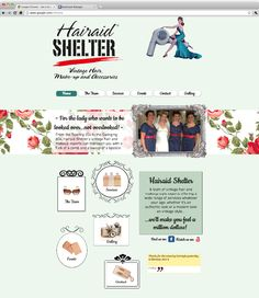 Hair Aid Shelter | Vintage hair, makeup and accessories