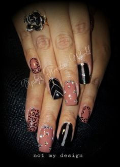 Acrylic nails  Nailart