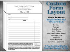 Custom Ncr For Your Business For Only    Copies  X