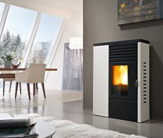 Edera, pellet stove by Red365