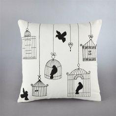 Sesto Printed Cotton Cushion Cover