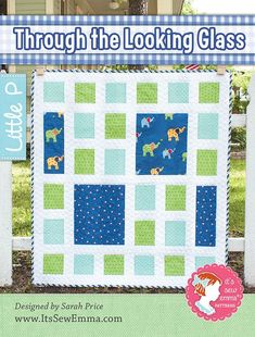 Through the Looking Glass Quilt Pattern It's Sew Emma Little P #ISE-506 | Fat Quarter Shop