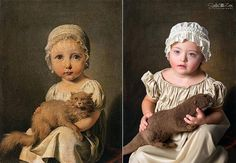 Albanian photographer Soela Zani world-famous how again with children with down syndrome pictures. tremendous