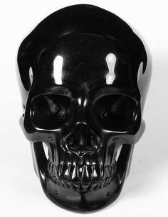 Black Obsidian Crystal Skull