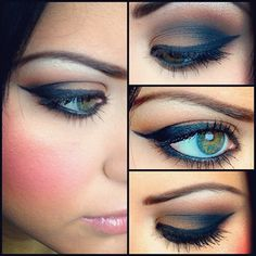 Brown smokey eye PERFECTION!