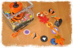 Halloween … des bonbons ou un sort … et un peu de déco !