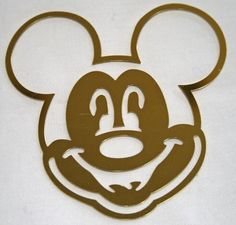 mickey mouse cake face template - Google Search