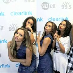 """Jade and Leigh yesterday in their M&G @jadeameliabadwi @leigh_love_life"""""""