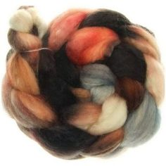 Funnies to Spin - Bluefaced Mohair No.64