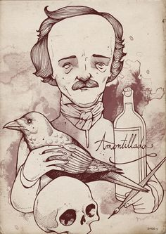 Poe Art Print by Hatrobot | Society6