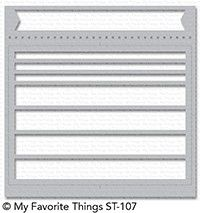 My Favorite Things ENVELOPE BUDDY Mix-ables Stencil MFT ST107