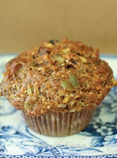 Fuel to Go Muffins, these muffins are loaded with chia seed, hemp seed, pumpkin and sunflower seeds, multigrain flour, carrots, and fruit! CW - just made these, so good! I added 1 cup of chocolate chips in sub for the seeds I didn't have.