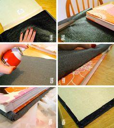 DIY Chic: Customized Notebook or Class Organizer