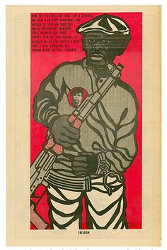 Black Panther: The Revolutionary Art of Emory Douglas | MOCA The Museum of Contemporary Art, Los Angeles  http://www.moca.org/emorydouglas/
