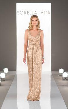 742a2c08832 Sorella Vita Designer Series Bridesmaid Dress  Modern Metallic in Platinum