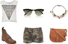 """Coachella Day 1"" by gleekygeek on Polyvore"