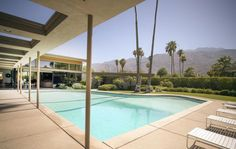 Architects in Palm Springs, California adapted European Bauhaus ideas to the local desert landscape of southern California. They created mid-century modern.