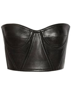 Channeling punk and lusting after this leather bustier