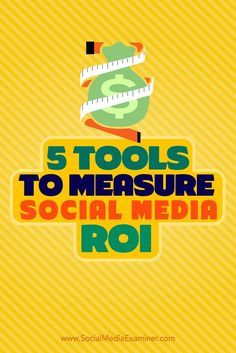 Do you struggle to determine an accurate ROI in social media marketing? Its important to know whether or not the money youve invested in your social media marketing has provided a return thats worth what youve put in. In this article, youll discove