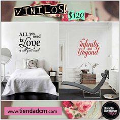 Los vinilos queda bárbaros en cualquier ambiente. ¿Vos dónde los pondrías?  Sólo en ➜ www.tiendadcm.com/products/list/brand/21130