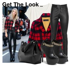 """Get The Look: Cara Delevingne"" by martso ❤ liked on Polyvore featuring H&M, Dsquared2, SLY 010 and Steve Madden"