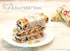 "Fruit and nut ""kind"" bars"