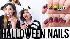 Halloween Nail art dos tutoriales super fáciles - http://xn--decorandouas-jhb.net/halloween-nail-art-dos-tutoriales-super-faciles/