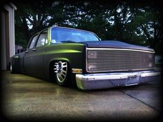 Bagged 86 Chevy C30