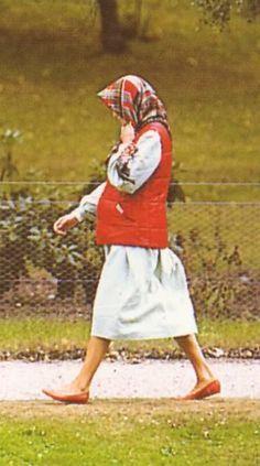 Princess Diana at Balmoral, August 1984