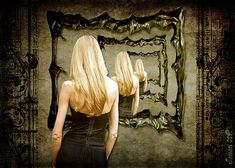 a woman standing in front of mirror tying to find the perfect woman within Perfect Woman, Perfect Body, Woman Within, Woman Standing, In This Moment, 4 Life, Karma, Mothers, Studios