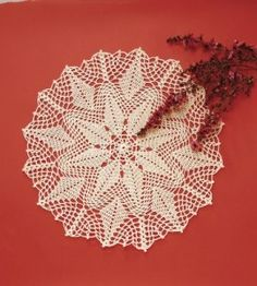 This unique and delicate crochet doily pattern is a perfect accent for side table. Crochet Doily Patterns, Thread Crochet, Crochet Crafts, Crochet Doilies, Diy Crafts, Crochet Ideas, Unique Crochet, Love Crochet, Knit Crochet