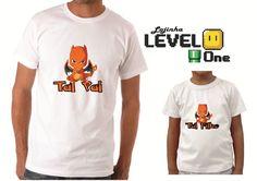 Camiseta Tal Pai Tal Filho Pokemon