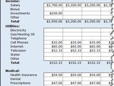 Cash-Flow Budget: Expenses the BEST dave ramsey budget spredsheet I ...