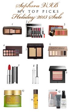 Ready, Set, Shop! My Top Picks for the Sephora VIB Holiday 2013 Sale | Glitter Geek