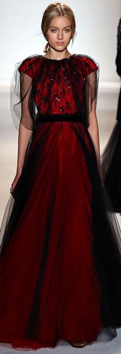 From the Board: A World of Fashion and Couture  Jenny Packham FALL 2013 RTW - NYFW