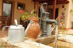 Beauty along the Meseta - Albergue Italiano, Moratinos, Palencia, Spain The Camino, Just Dream, Watering Can, Jar, Decor, Camino De Santiago, French Nails, Dekoration, Decoration