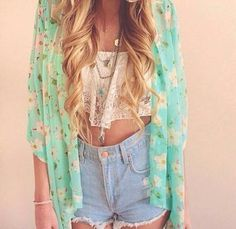 c: | via Tumblr summer outfit idea teen