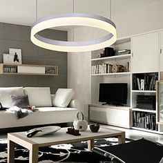 Modern Contracted Circle Ring LED Pendant Lamp - USD $ 239.99