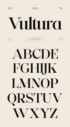 Vultura - Classic Font + Free Logos by Sweetest Goods on @creativemarket Lightroom, Photoshop, Web Design, Logo Design, Graphic Design, Uppercase Alphabet, Typography Alphabet, Free Logo Templates, Classic Fonts