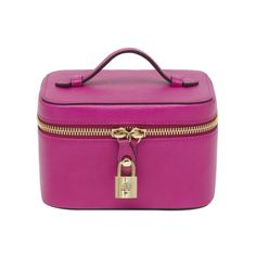 Jewellery Case in Mulberry Pink Glossy Goat | Accessories | Mulberry