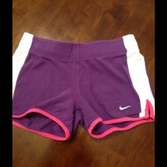 Nike shorts 92% cotton 8% spandex. In good condition. Nike Shorts