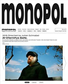 Monopol online redesign - Fonts In Use Palermo, Radios, Facebook Instagram Twitter, Pull Quotes, Web Patterns, Graph Design, We Energies, German Language, Magazine Art