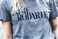"""Je t´aime Rodarte""-T Shirt, by Opening Ceremony"