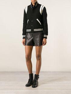 Saint Laurent Varsity Jacket - Apropos The Concept Store - Farfetch.com