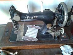 Mijn oude naaimachine.