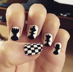 chess nails bmodish