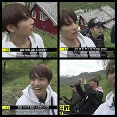 #BTS #방탄소년단 Bon Voyage Episode 3 Behind Cam ❤ Jin, Suga and Jungkook went hiking up a mountain and got tired after a minute ahaha.