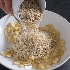 Bolachas de aveia e banana: apenas 3 ingredientes - Made by Choices Healthy Life, Healthy Snacks, Vegan Recipes, Cooking Recipes, Sans Lactose, Dessert Recipes, Desserts, Chocolate, Carne