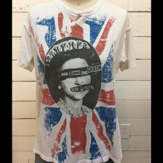 Sex Pistols concert tee Authentic from their reunion tour of 2008 starting at Hard Rock Cafe in Vegas Tops Tees - Short Sleeve